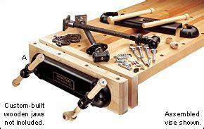 veritas bench vise veritas 174 twin screw vise lee valley tools