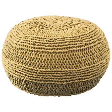 Ottoman Knitted Cable Knit Pouf Ottoman Crochet Pillows Poufs Cushions Etc P