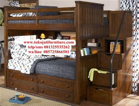 Ranjang Modern ranjang tidur tingkat jati modern www tokojatifurniture