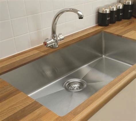 Sinks Kitchen Undermount Ukinox Micro Series Undermount Kitchen Sinks