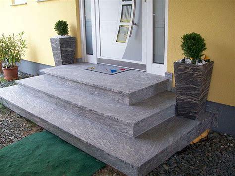 hauseingang gestalten granit fliesen hauseingang mischungsverh 228 ltnis zement