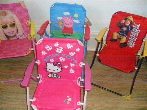 bnwt children s garden folding patio picnic chair