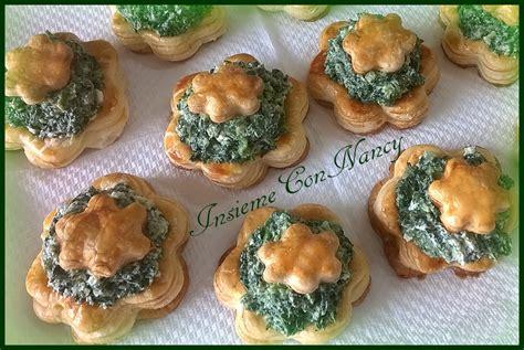 fiori di pasta fiori di pasta sfoglia con ricotta spinaci e provola