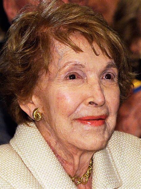 nancy reagan nancy reagan cause of death how did the first lady die