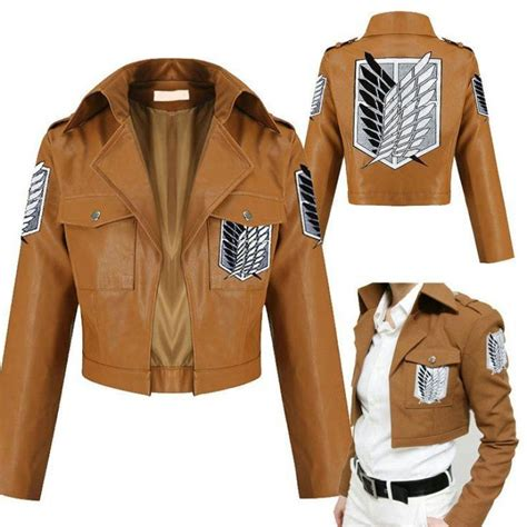 Sweater Jaket Attack On Titan Snk Sporty All Edition attack on titan shingeki no kyojin leather jacket