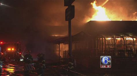 germantown section of philadelphia large fire destroys popular asian restaurant in the