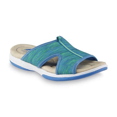 kmart womens sandals athletech s averley sandal blue shoes s