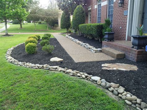 decorative plants front yard decorative landscaping with rocks for a natural house