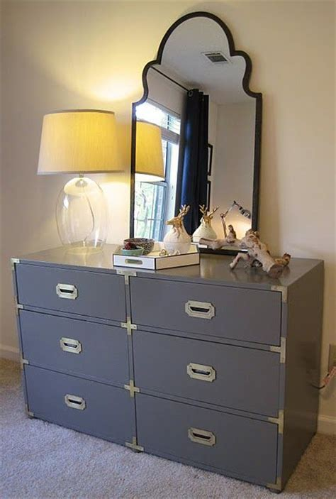 Craigslist Dresser With Mirror by Beautiful Craigslist Caign Dresser Painted A Lovely Gray Sherwin Williams Anonymous In High