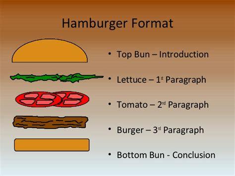 burger writing template 5 paragraph essay 171 essayfield