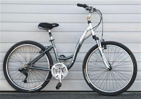 comfortable bike seat for trek 16 quot trek navigator 200 aluminum step through comfort
