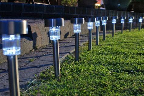 Lu Taman Sinar Matahari ide pencahayaan untuk taman kota dan pribadi indalux