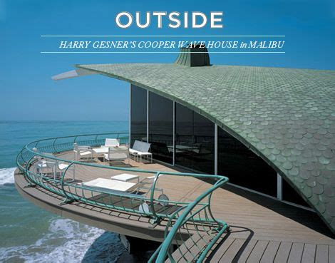 harry gesners cooper wave house  malibu dream homes