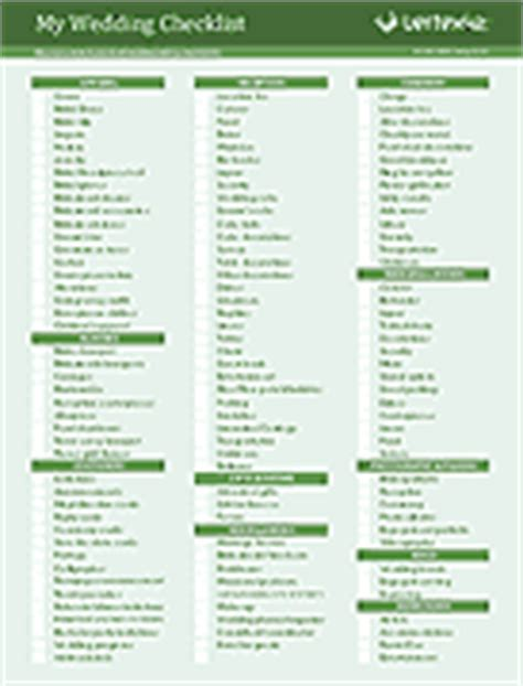 Wedding Checklist Template Malaysia by Free Printable Wedding Checklist For Wedding Planning