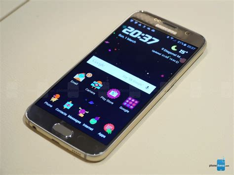 best themes galaxy s6 edge a look at the galaxy s6 s powerful touchwiz themes