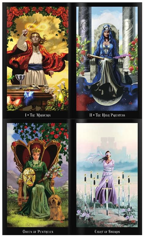 witches tarot buy witches tarot deck and book set by ellen dugan online