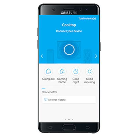 samsung smart app using the smart connect feature on your gas cooktop