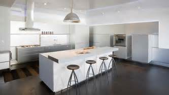White Modern Kitchen Ideas by 18 Modern White Kitchen Design Ideas Home Design Lover