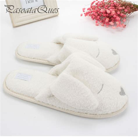indoor slippers for guests animal pattern cotton home slippers indoor