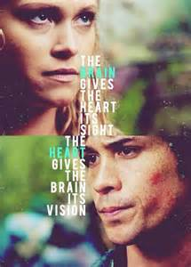 Clarke and bellamy the100 cw pinterest