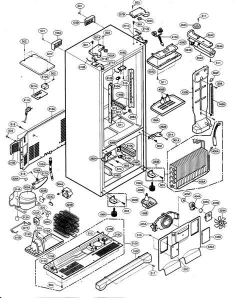 kenmore refrigerator parts diagram refrigerator parts sears kenmore refrigerator parts list