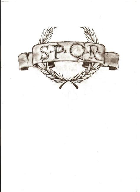 roman legion tattoo designs 25 best ideas about spqr on c