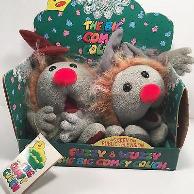 Dust Bunnies Big Comfy by Big Comfy Dust Bunnies Fuzzy And Wuzzy 1997 In Box