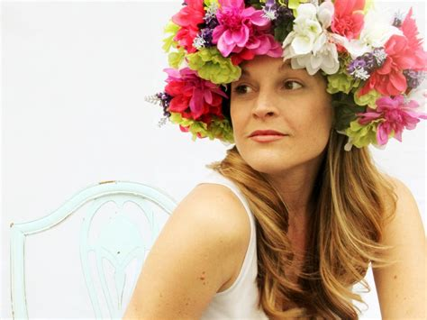 how to create a flower wreath hair piece my view on fashinating how to make a floral head wreath how tos diy