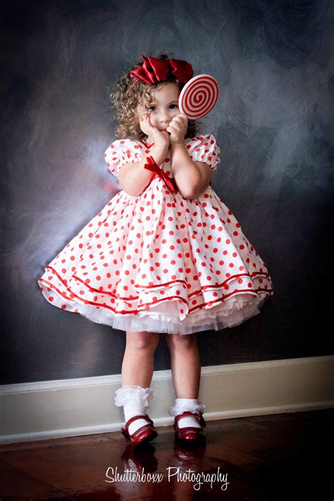 Dress Serly shirley temple polka dot dress set stand up and cheer