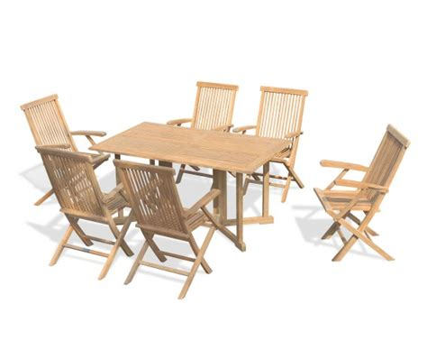 Gateleg Patio Table Gateleg Patio Table The Gateleg Patio Table And Stowable Chairs Hammacher Schlemmer The