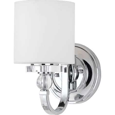 Quoizel Downtown Wall Sconce Quoizel Lighting Downtown 1 Light Wall Sconce In Polished Chrome Dw8701c