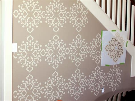 wall template stencils 8 ways to paint feature walls for stylish homes nestopia