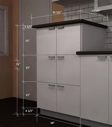 height for kitchen cabinets ikea kitchen design trends medium height cabinets