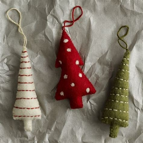 precious west elm felt tree ornaments 7 a pop