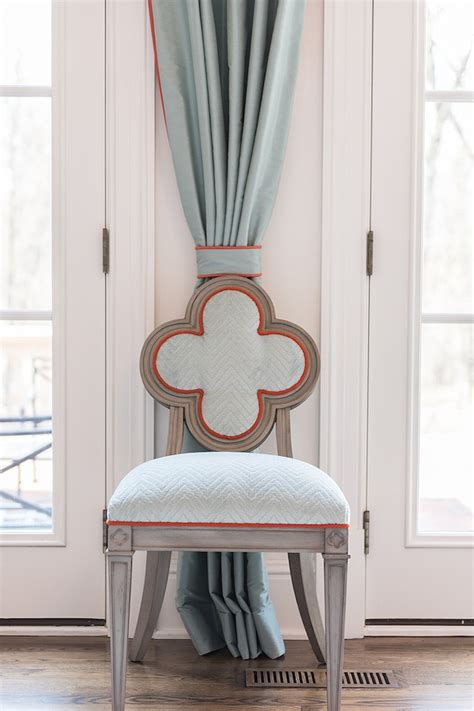 Suzanne Kasler Quatrefoil Chair by Attention To Detail Makes This Home A Masterpiece
