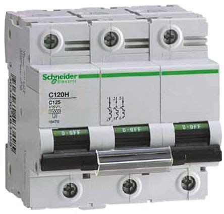 Mcb Schneider 1p 50 Schneider 6ka No Ref A9f74150 Ic60n 18466 c120 c120 mcb 3p 50 a 30 176 c schneider electric