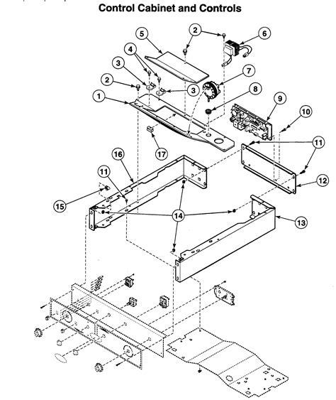 speed dryer parts diagram speed washer dryer parts model ltza7awn2802