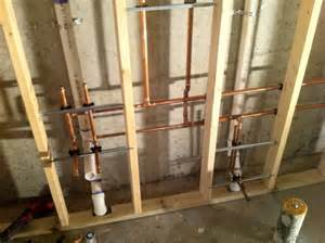 plumbing for new bathroom in basement yelp