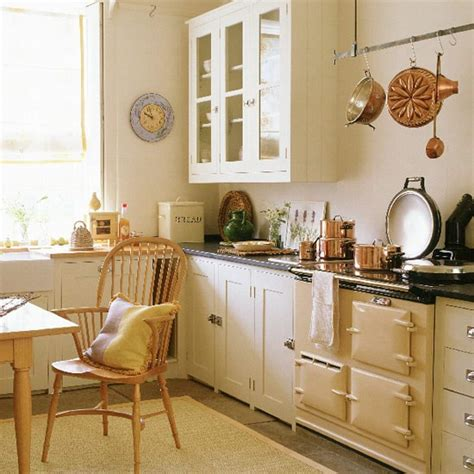 cream country kitchen ideas country kitchen with cream units wooden table and stone