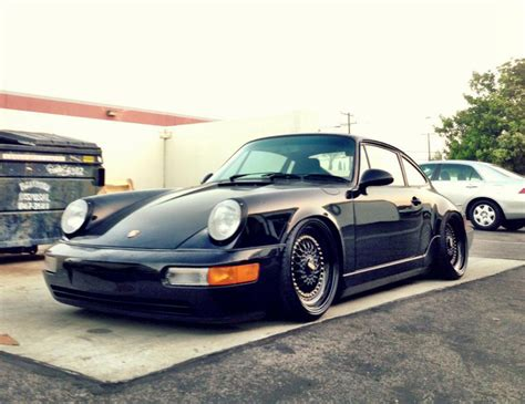 slammed porsche 911 964 slammed on rs porsche purrists will be in the corner