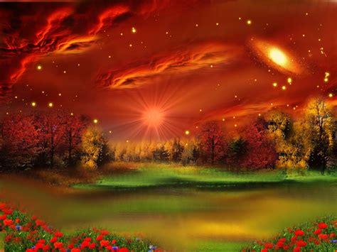 imagenes de paisajes fantasticos ciberest 233 tica paisajes de imaginaci 243 n digitalizados