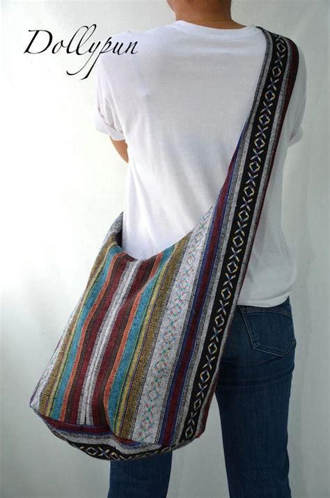 yoko slingbag b7 woven sling bag ethnic boho bag hobo bag hippie bag cotton