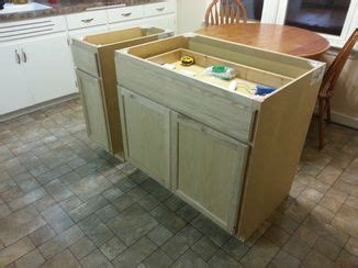 how to make an island for your kitchen best 25 build kitchen island ideas on diy