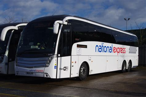 national express couches location start hill depot
