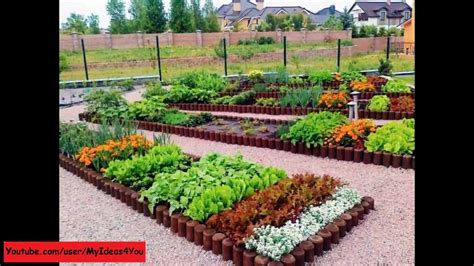 backyard vegetable garden ideas raised bed design