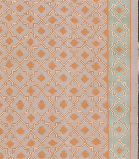 cotton dhurrie rugs sale large vintage cotton dhurrie for sale at 1stdibs