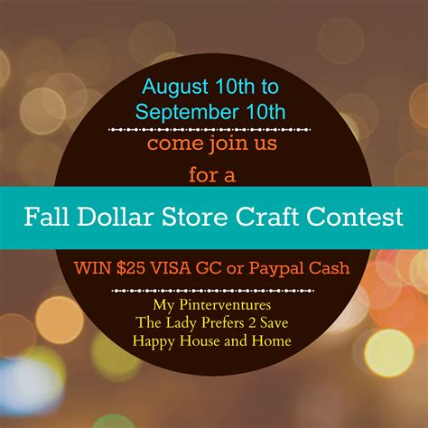 dollar store crafts for fall dollar store craft contest