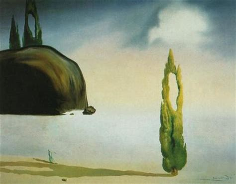 Landscape Near Figueras The Echo Of The Vold Salvador Dali Wikiart Org