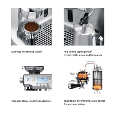 Mesin Kopi Breville breville the oracle espresso bes980 otten coffee jual