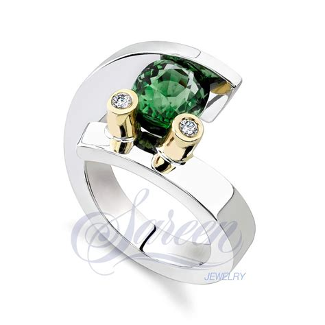 sareen tension colored ring